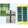 China PVC coated Chain Link Fence for sale