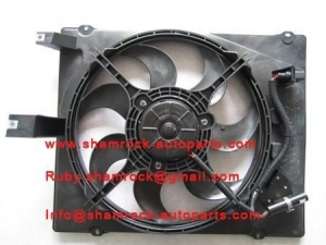 China CAM inyathi Conendsor fan assy (with electric Fan and motor) on sale