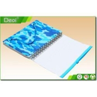 China Customized school notebook cover designs with plastic hard cover on sale