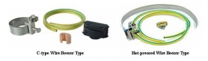 China RF Coaxial Cable Grounding Kits on sale