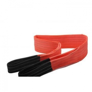 China Red Color 5Ton BS Polyester Lifting Sling Belt on sale