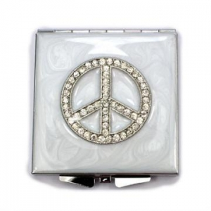China Peace Compact Mirrors on sale