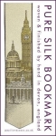 London bookmark, featuring landmarks Big Ben, St Paul's Cathedral and Mansion House.