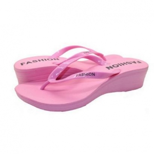 China Luxury flip flops wedge on sale