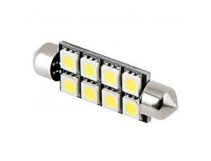 China Car Light Bulbs 578 CAN Bus LED Bulb - 8 LED Festoon - 44mm on sale