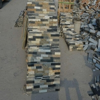 High Quality Mixed Quartzite Stack Slate Stone Tile