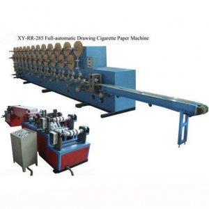 China XY-RR-285 Full-automatic drawing cigarette rolling paper machine on sale