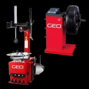 China Entry Level Tyre Machine and Wheel Balancer Package on sale