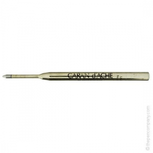 China Caran d'Ache Pens Black Caran d Ache Goliath Ball Pen Refill Medium on sale