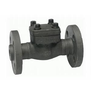 China Forged steel valve Flange type forged check valve on sale
