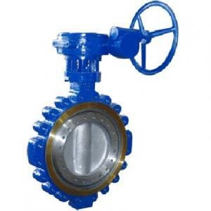China Lug type metal seat butterfly valve on sale