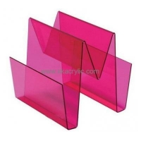 China Wholesale acrylic brochure holder floor stand paper file holder a4 plastic document holder BH-139 on sale