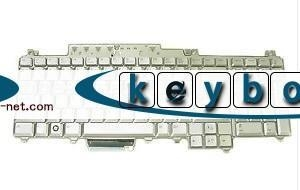 China original brand new laptop Keyboard for Dell XPS M1730 silver on sale