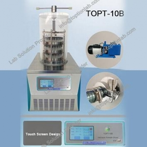China Freeze Drying Food At Home Laboratory Freeze Dryer Lyophilizer on sale