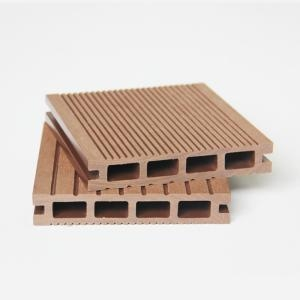 China Wood Plastic Terrace Decoration Decking Plastic Wood Decking Supplier on sale