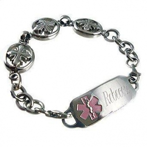China DST04 - Deluxe Divine Hope Medical ID Bracelet on sale