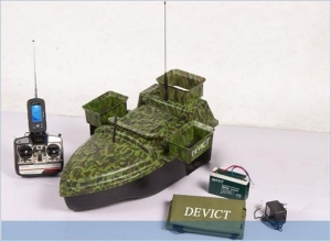 China Remote Controlled Bait Boat (Camouflage) DEVC-208 on sale