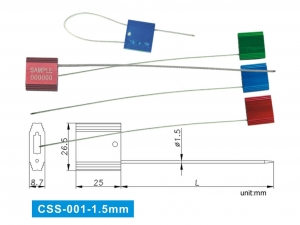 China SECURLock-CSS type (Cable Security Seals)> on sale