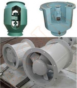 China Ex-proof Tube Axial Flow Fan on sale