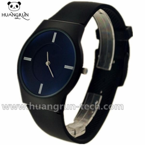 China Geneva Watches Ultra-thin Silicone Watches With Sapphire Coating Crystal CC12 on sale