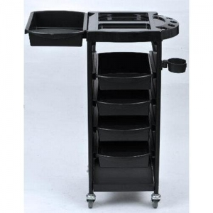 China NEW Coloring Hair Salon Trolley 5 Tier Storage Rolling Cart on sale