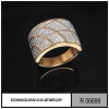 China Rings R6699 Handmade Dubai Gold Plated Jewelry for sale