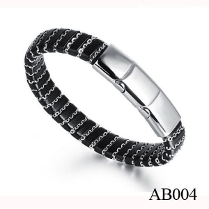 China Stainless Steel Jewelry AB004 New Products 2016 Stainless Steel Custom Bracelet on sale