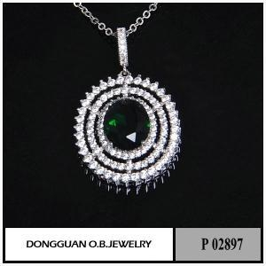 China Pendants P2897 New Fashion Rhodium Plated Moroccan Jewelry on sale