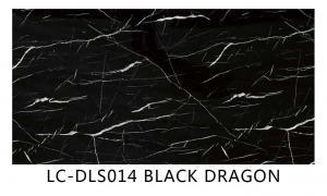 China UV marble board BLACK DRAGON on sale