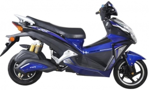 China 1200W 72V 20AH Lead Acid Electric Sport Motorcycles on sale