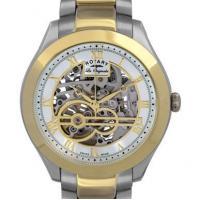 Rotary Mens Jura Automatic skeleton watch