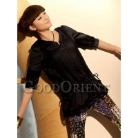 Lovely floral wrap design chinese clothing