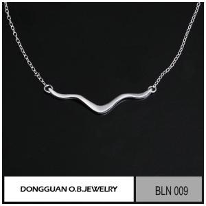 China Necklaces BLN009 Fashion 925 Sterling Silver Necklace on sale