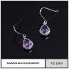 China Fashion Designs Jewelry Hanging Stone Earrings Zircon Jewellery for sale