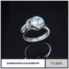 China Rings Wholesale Cheap Price Brass Zircon Ring For Men From Jewelry Factory for sale