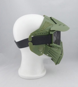 China airsoft wargame cs gear full face tactical mask on sale