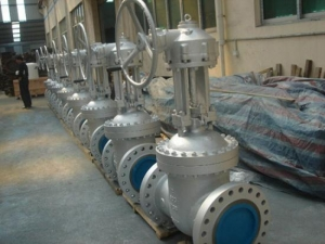 China API Stainless Steel Flanged Gate Valve (Rising Stem) on sale