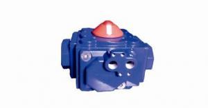 China High Torque Quarter Turn Rack & Pinion 4X4 Compact 4 Piston Pneumatic Actuator on sale