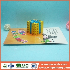 China Best Wishes Handmade Birthday Cards For Best Friend on sale