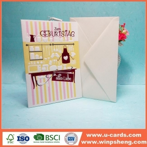 China Attractive Ideas Handmade Birthday Cards At Home For Kids on sale