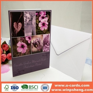 China Hot Sale Beautiful Handmade Love Greetings Birthday Card Ideas For Boys on sale