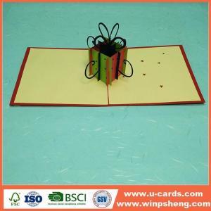 China New Custom Laser Cut Christmas Cards on sale