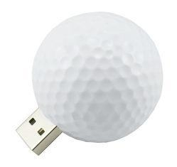 China White Spherical Plastic USB Flash Drive, Custom USB Memory Stick Storage Device on sale
