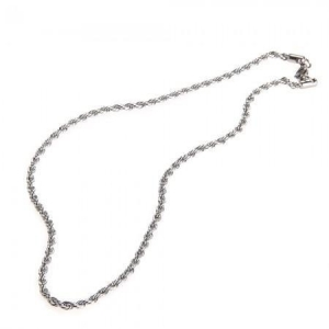 China Men's Stainless Steel Chain Necklace 50-54cm Medium TOP on sale