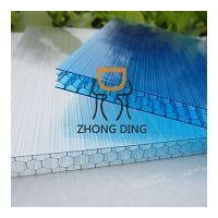 China Triple Wall Polycarbonate Hollow Sheet on sale