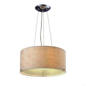 China Drum Shade Pendant Lamp for Lobby PL31006 on sale