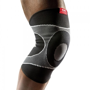 China McDavid Knee Sleeve with 4-Way Elastic with Gel Butress on sale