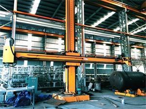China Automatic Submerged Arc Welding Column Boom Manipulator 5X5M on sale