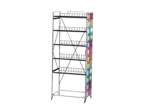 China Shopping Mall Metal pharmacy display stand on sale