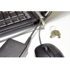 China Laptop Computer Locks 14mm Slim Laptop Lock with peripheral trap for sale
